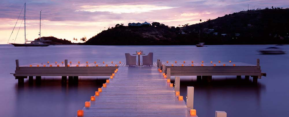 Antigua resorts and hotels - sea side
